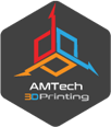 Additive Manufacturing Technologies – AMTech3D Logo