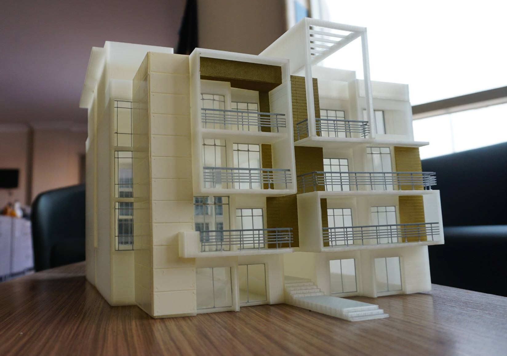 Detailed and Colored Architectural Model - AMTech 3D Printing Egypt