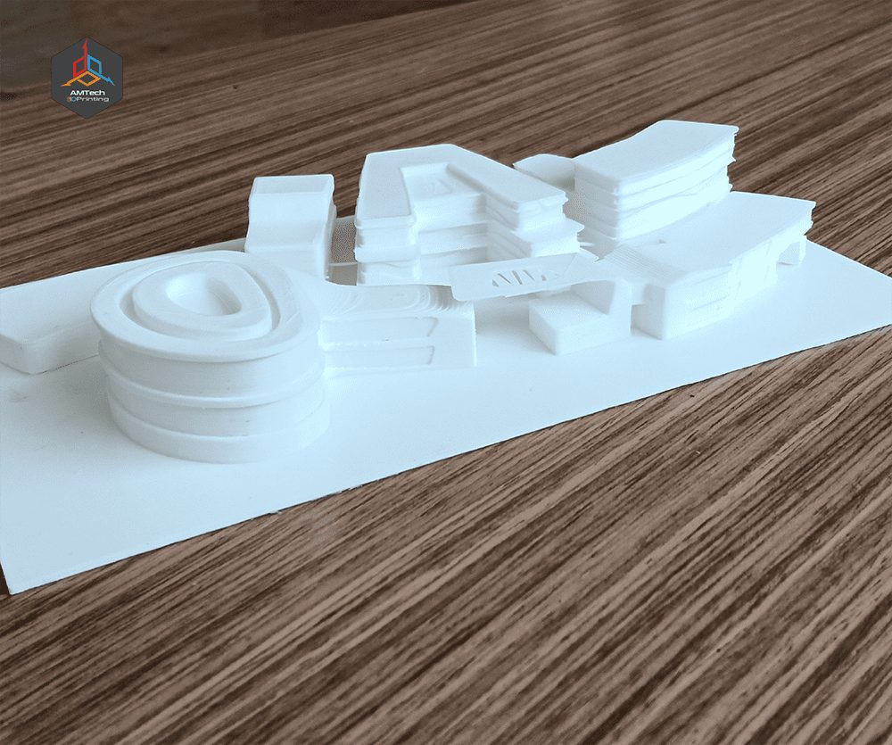 "Architectural Model ""Student Project"" - AMTech 3D Printing Egypt"