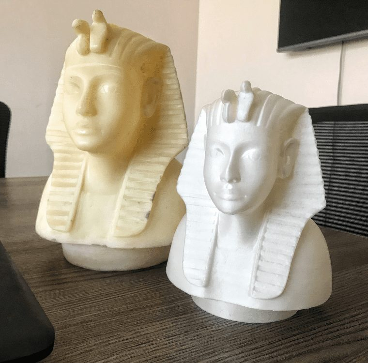 Historical Model 3D Scanning & Printing - AMTech 3D Printing Egypt