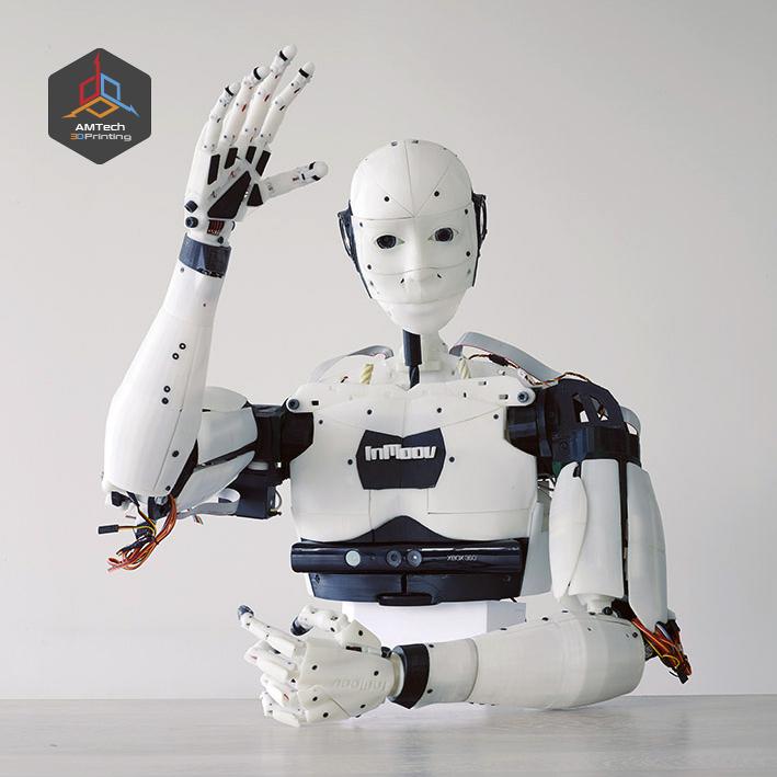 Graduation Project 'Robotic Arms' - AMTech 3D Printing Egypt