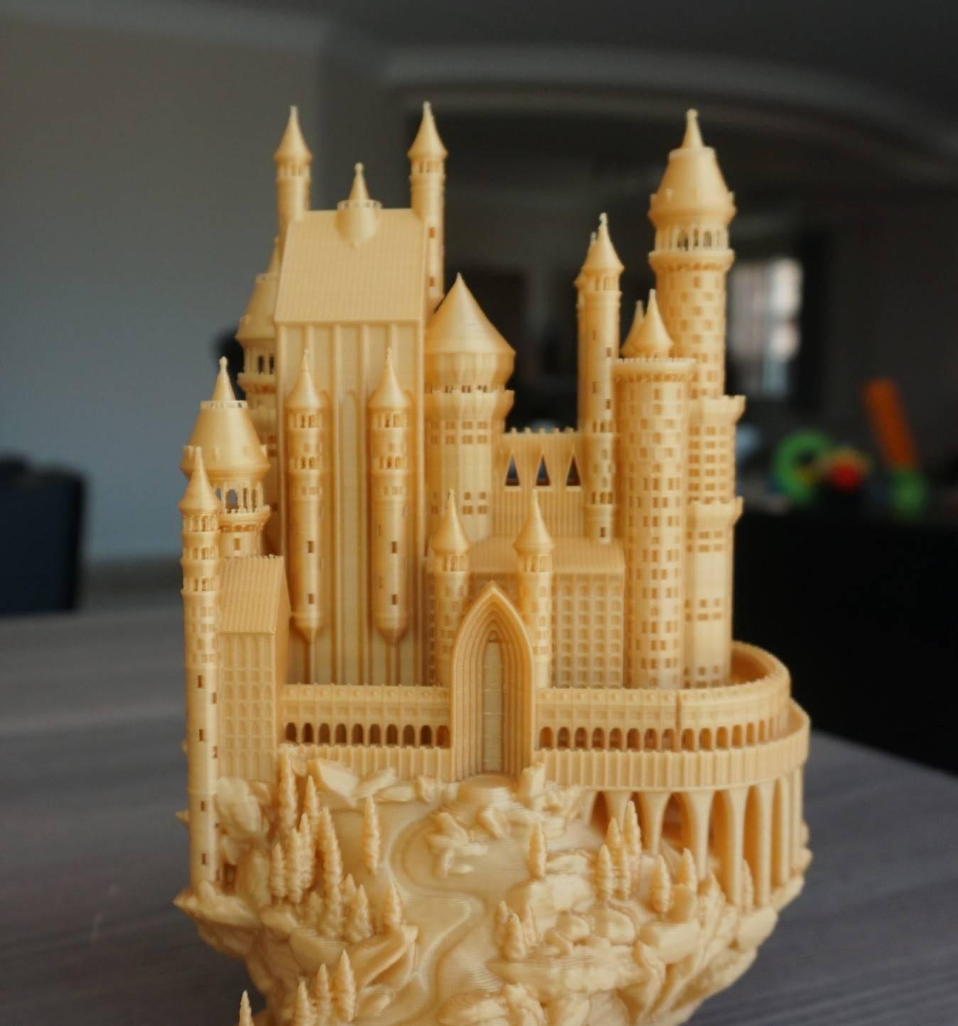 3D Printed Medieval Castle