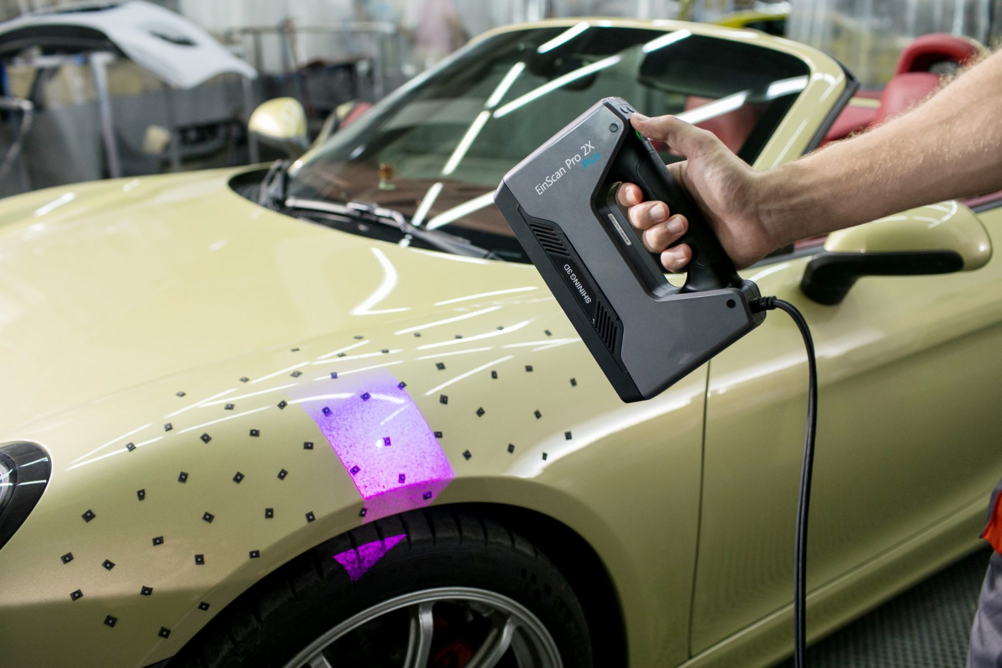 3D Scanning for Automotive Industry