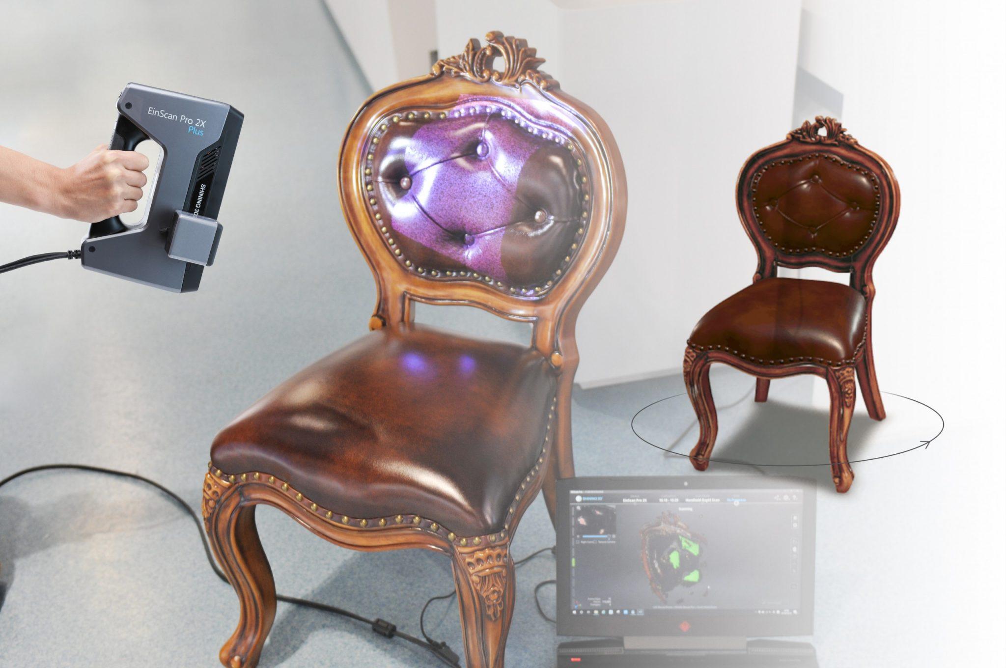 3D Scanning Furniture