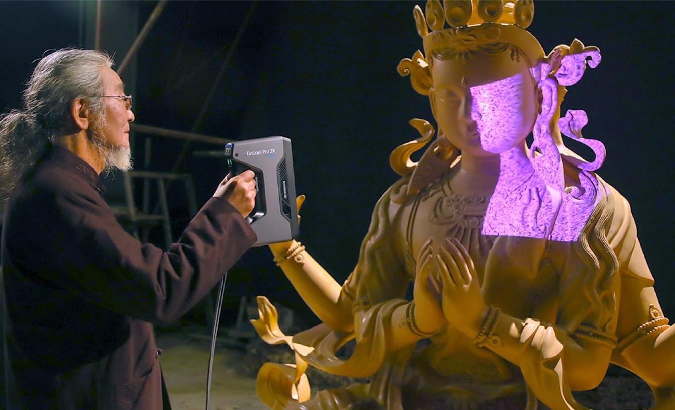 3D Scanning Sculptures